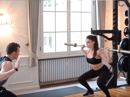 Fitness Workout – Beine