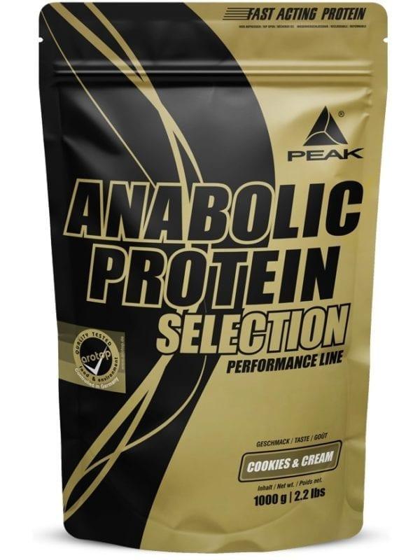 Peak Anabolic Protein Selection
