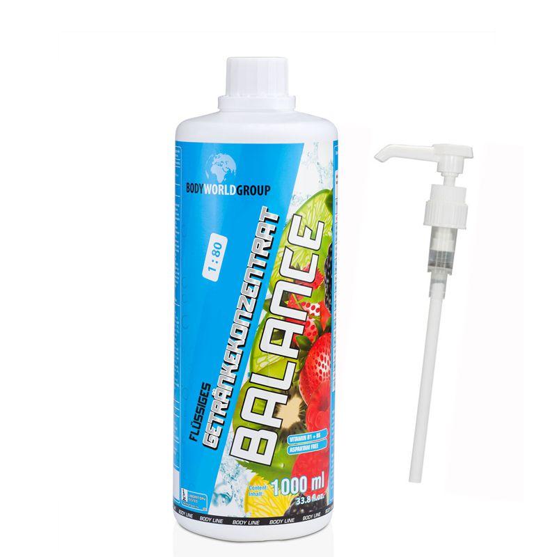 Mineraldrink - Low Carb Mineral Drink 1000 ml von Body World Group