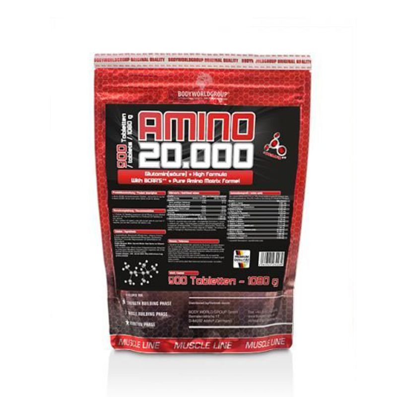 BODY WORLD GROUP Amino 20.000