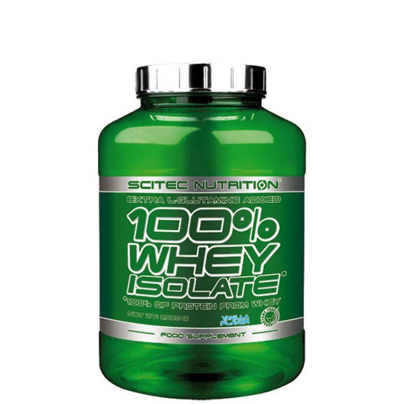 100% Whey Isolat*