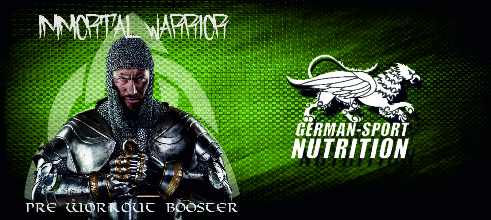 Immortal Warrior Pre Workout Supplement
