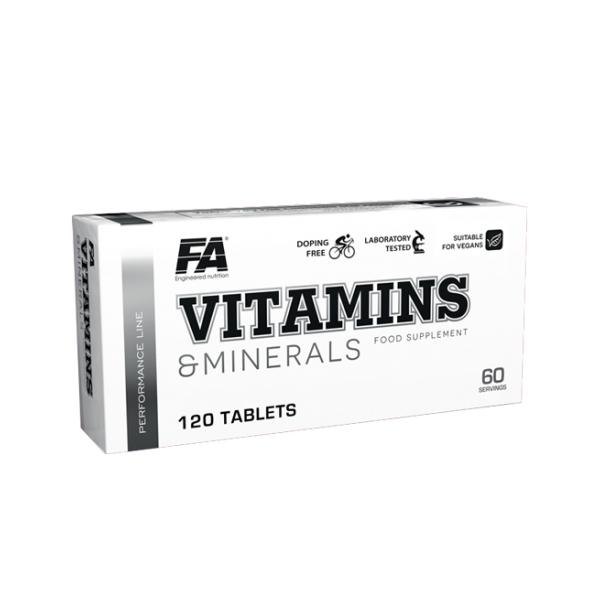 FA Nutrition Vitamins & Minerals